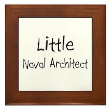 Little Naval Architect Framed Tile