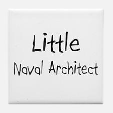 Little Naval Architect Tile Coaster