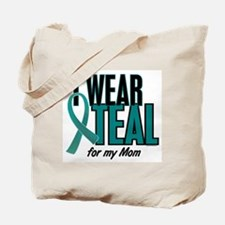 I Wear Teal For My Mom 10 Tote Bag