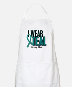 I Wear Teal For My Mom 10 BBQ Apron