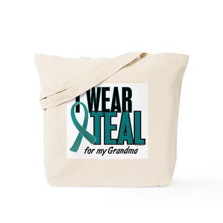 I Wear Teal For My Grandma 10 Tote Bag