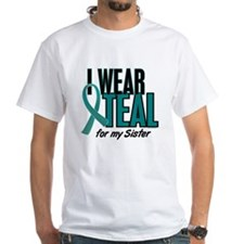 I Wear Teal For My Sister 10 Shirt