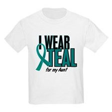 I Wear Teal For My Aunt 10 T-Shirt