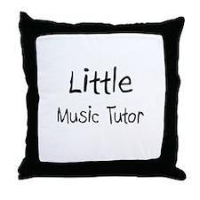 Little Music Tutor Throw Pillow