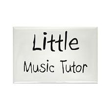 Little Music Tutor Rectangle Magnet