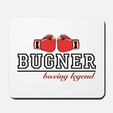 BUGNER: BOXING LEGEND Mousepad