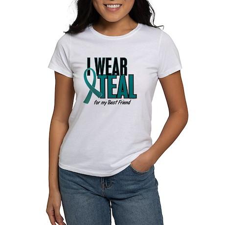 I Wear Teal For My Best Friend 10 Women's T-Shirt
