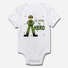 My Daddy My Hero Army Baby Infant Bodysuit