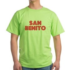 Retro San Benito (Red) T-Shirt
