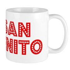 Retro San Benito (Red) Mug