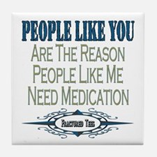 Medications Tile Coaster