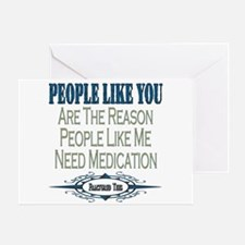 Medications Greeting Card