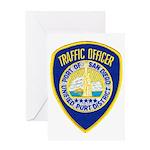San Diego Port PD Greeting Card