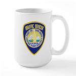 San Diego Port PD Large Mug