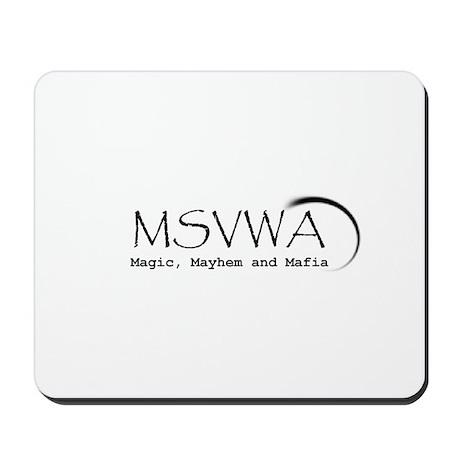 MSVWA Logo Mousepad