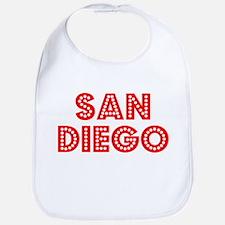 Retro San Diego (Red) Bib