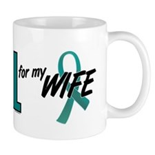 I Wear Teal For My Wife 10 Mug