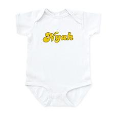 Retro Nyah (Gold) Infant Bodysuit