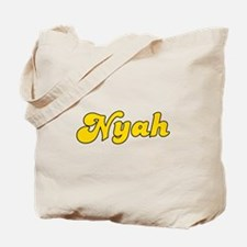 Retro Nyah (Gold) Tote Bag