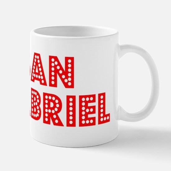 Retro San Gabriel (Red) Mug