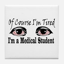 Medical Student Tile Coaster