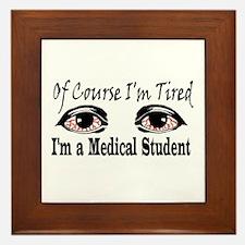 Medical Student Framed Tile