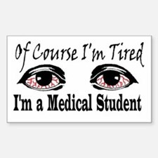 Medical Student Rectangle Decal