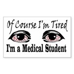 Medical Student Rectangle Sticker