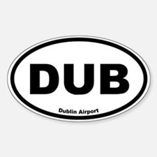 Dublin Airport Oval Decal