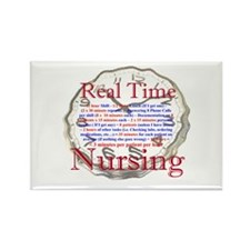Nursing in Real Time Rectangle Magnet