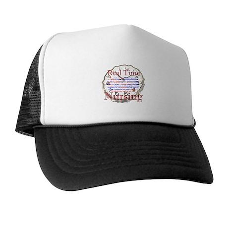 Nursing in Real Time Trucker Hat