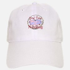 Nursing in Real Time Baseball Baseball Cap