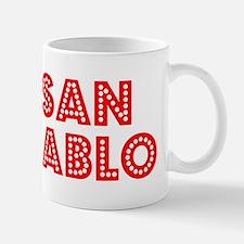 Retro San Pablo (Red) Mug