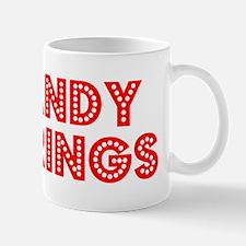 Retro Sandy Springs (Red) Mug