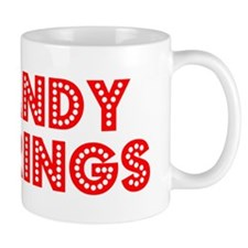 Retro Sandy Springs (Red) Mug