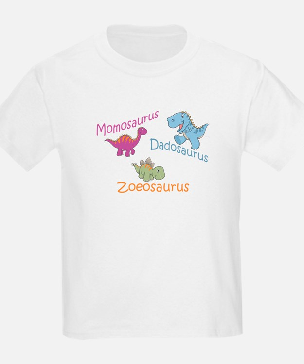 Mom, Dad, & Zoeosaurus T-Shirt