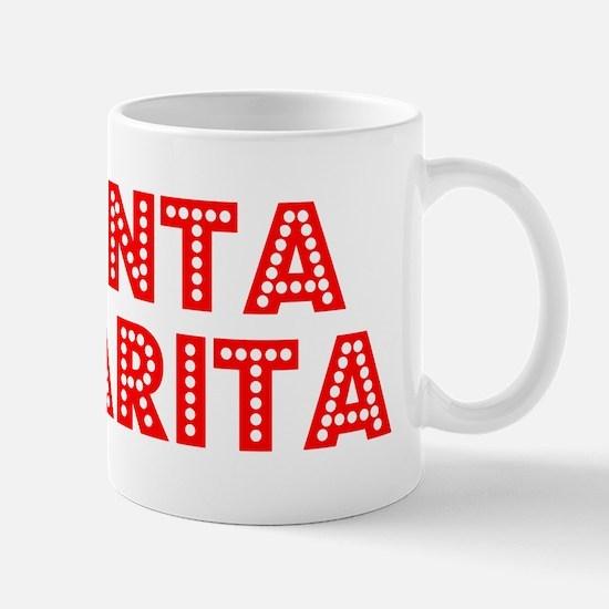 Retro Santa Clarita (Red) Mug