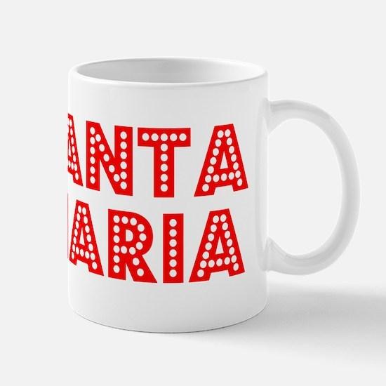 Retro Santa Maria (Red) Mug