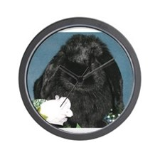 Black Velvet Wall Clock