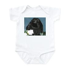 Black Velvet Infant Bodysuit