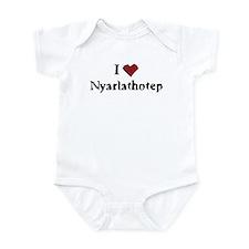 I heart Nyarlathotep Infant Bodysuit