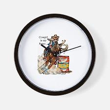 Barrel racing is my game Wall Clock