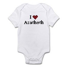 I heart Azathoth Infant Bodysuit
