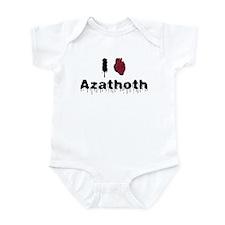 I heart Azathoth 2 Infant Bodysuit