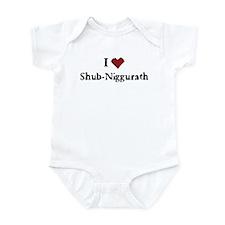 I heart Shub-Niggurath Infant Bodysuit
