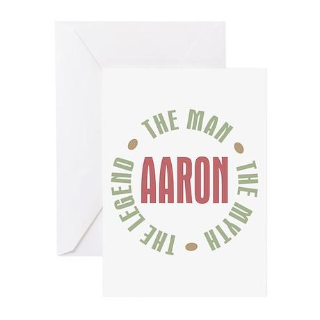 Aaron Man Myth Legend Greeting Cards (Pk of 10)