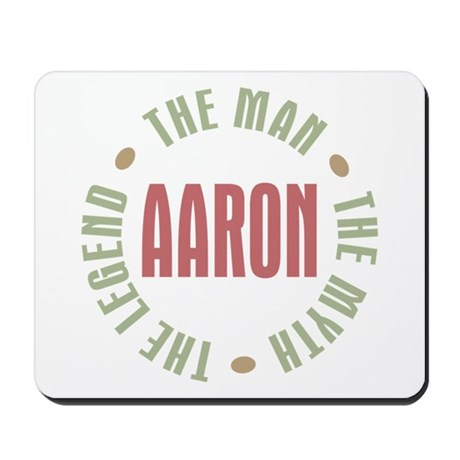 Aaron Man Myth Legend Mousepad