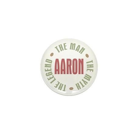 Aaron Man Myth Legend Mini Button (10 pack)