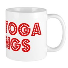 Retro Saratoga Spr.. (Red) Mug