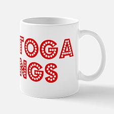 Retro Saratoga Spr.. (Red) Mug